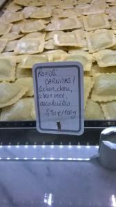 Ravioli carnitas de chez Passerini