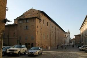 Le centre ville d'Urbino