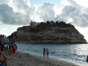 Belle plage de Tropea