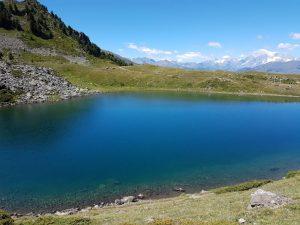 Le lac Chamolé et ses eaux fraiches même en été