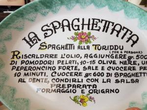 Recette de Pasta alla Turiddu, pour les situations d'urgence