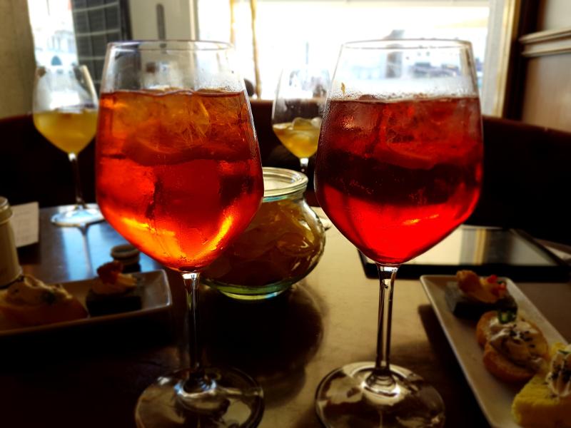 Le prosecco est utilisé dans plusiieurs recettes de Spritz