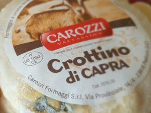 Crottino di capra, fromage de chèvre