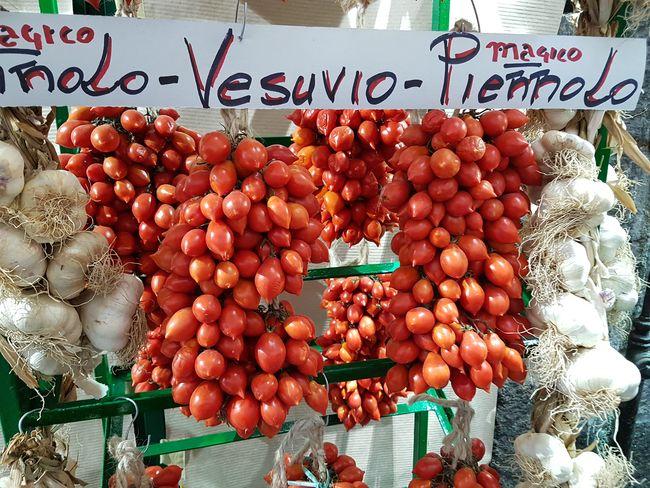 Tomates cerises Piennolo del Vesuvio