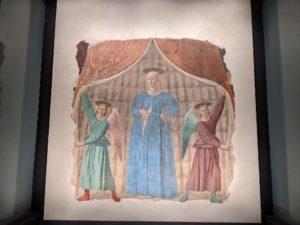 La Madonna del Parto conservée à Monterchi